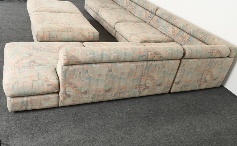 Canadian Roche Bobois Sectional Sofa, 1987