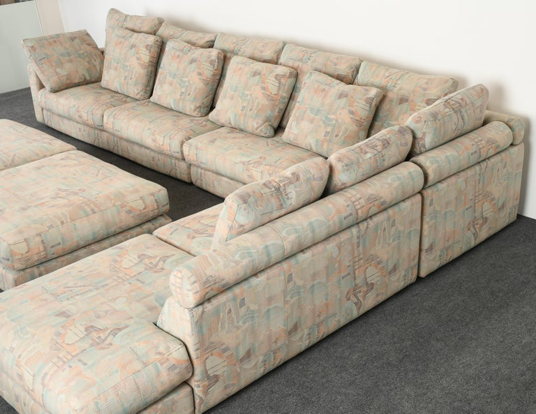 Roche Bobois Sectional Sofa, 1987 In Good Condition In Hamburg, PA