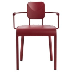 Rock 4 Red Armchair by Marc Sadler