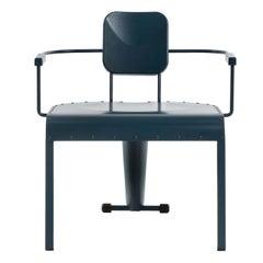 Rock Blue Lounge Armchair by Marc Sadler