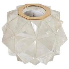 Rock Crystal Candleholder by Phoenix
