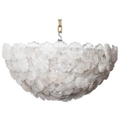 Rock Crystal Flower Basket Chadeleir