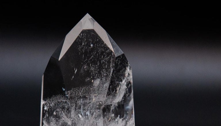Contemporary Rock Crystal Point For Sale