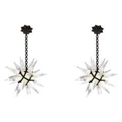 STAR27 Rock Crystal Star Chandeliers by Phoenix