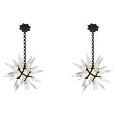 STAR30 Rock Crystal Star Chandeliers by Phoenix