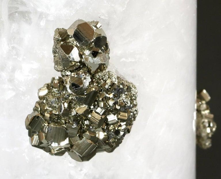 Rock Crystal Vase by Phoenix For Sale 1