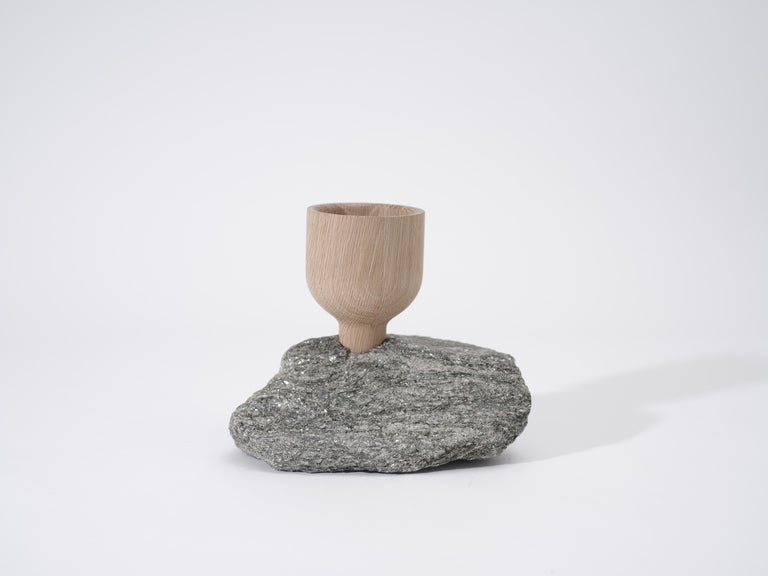 Rock Cup, Sculptural Object by Pat Kim In New Condition For Sale In Brooklyn, NY