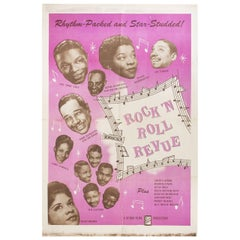 """Rock 'n' Roll Revue"" 1955 U.S. One Sheet Film Poster"