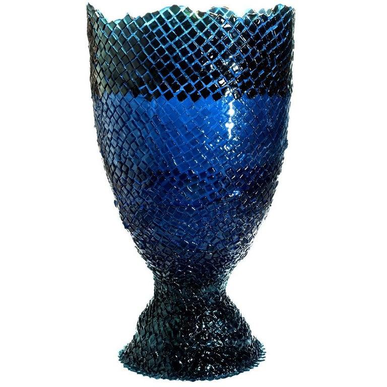 Rock on Ice Extra Large Vase