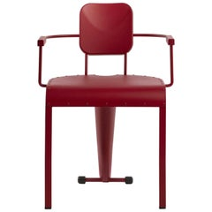 Rock Red Armchair by Marc Sadler
