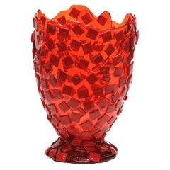 Rock Red Large Vase by Gaetano Pesce