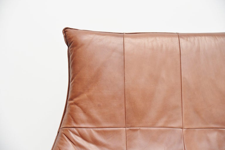 Late 20th Century Rock Sofa Gerard van den Berg Montis Holland 1970 Brown For Sale