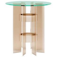 Rockefeller Side Table by Giannella Ventura