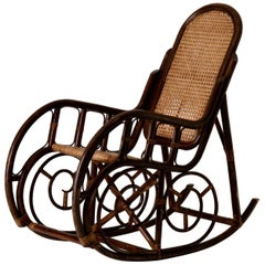Rocking Chair 20th Century Bentwood Sweden