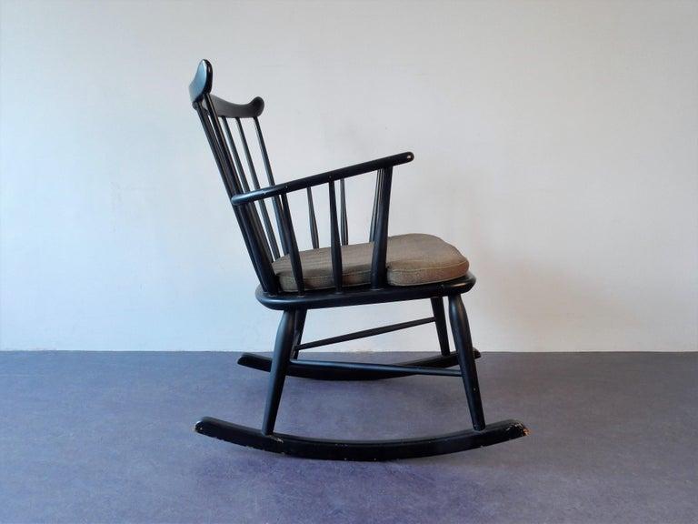 Mid-Century Modern Rocking Chair by Farstrup, Denmark, 1960s For Sale
