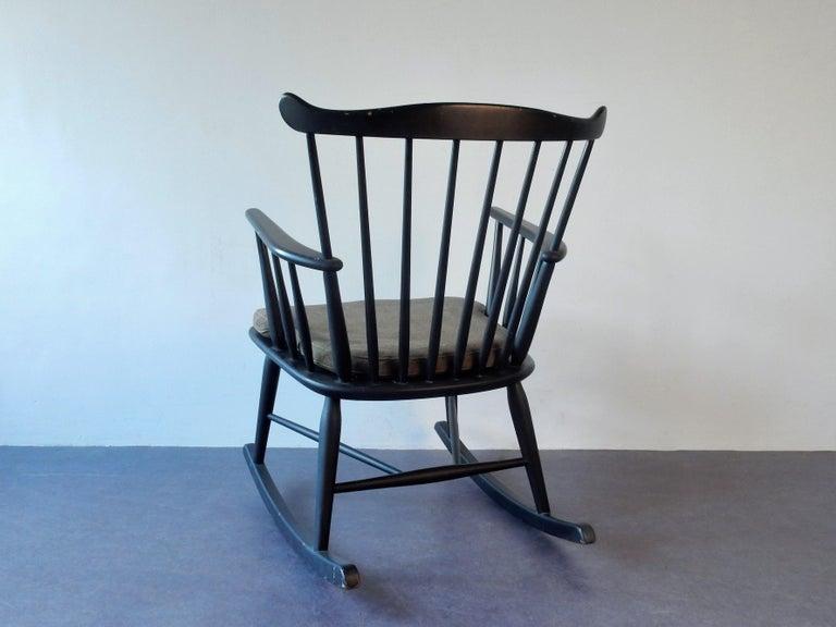 Danish Rocking Chair by Farstrup, Denmark, 1960s For Sale
