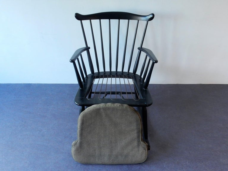 Mid-20th Century Rocking Chair by Farstrup, Denmark, 1960s For Sale
