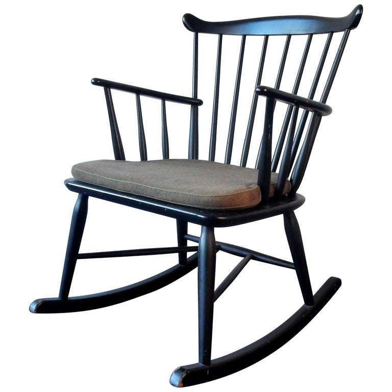 Rocking Chair by Farstrup, Denmark, 1960s For Sale