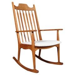 Rocking Chair by Henning Kjærnulf
