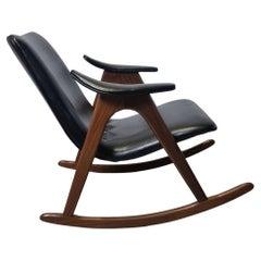 Rocking Chair by Louis van Teeffelen for Webe, 1960s