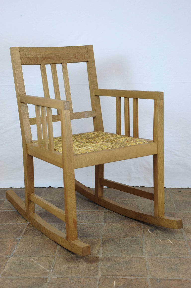 Italian Rocking Chair For Sale