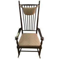 """Rocking Chair """"Isabella"""" by Karl-Axel Adolfsson for Gemla, Sweden"""