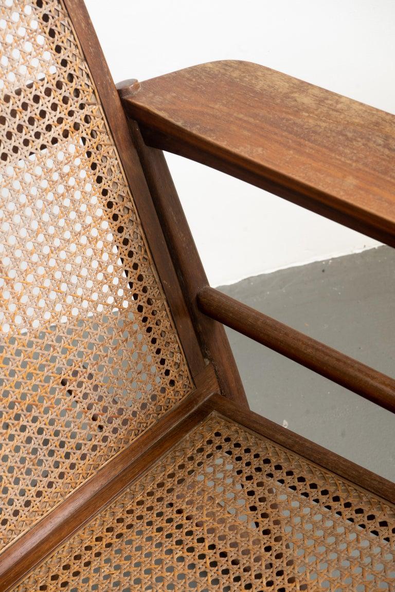 Rocking Chair Joaquim Tenreiro, 1960s, Brazilian Midcentury Design For Sale 4