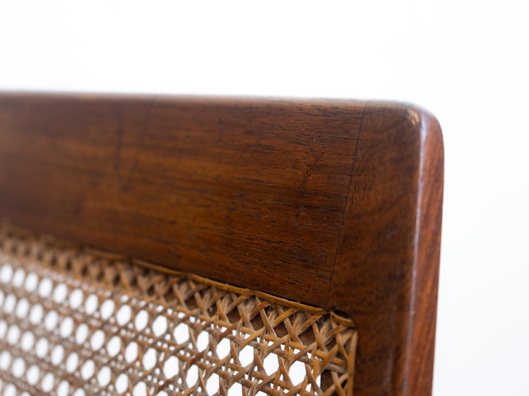 Rocking Chair Joaquim Tenreiro, 1960s, Brazilian Midcentury Design For Sale 9
