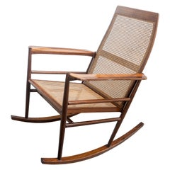 Rocking Chair Joaquim Tenreiro, 1960s, Brazilian Midcentury Design