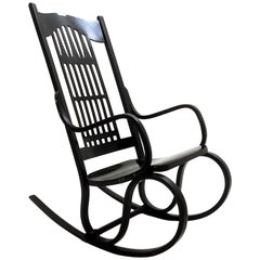Rocking Chair Model No 824 by Gustav Siegel, Austria, 1905
