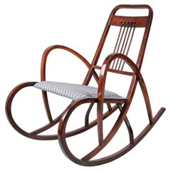 Rocking Chair No. 511 by M. Kammerer for Thonet, Austria, circa 1905