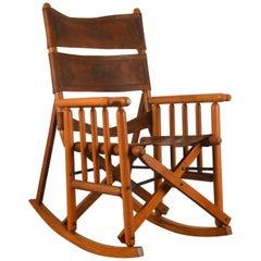 "Rocking Chair Type ""Safari"", Peace Corps, Ecuador, 1960s"