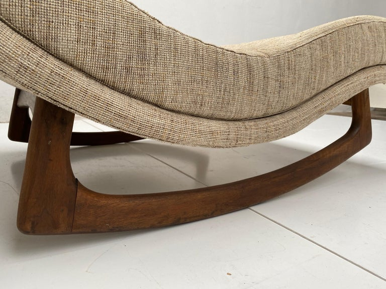 Rocking Chaise Lounge by Adrian Pearsall for Craft Associates, USA, 1960s For Sale 2