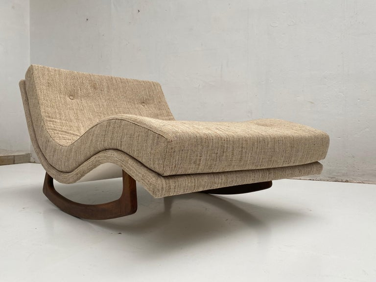 Rocking Chaise Lounge by Adrian Pearsall for Craft Associates, USA, 1960s For Sale 3