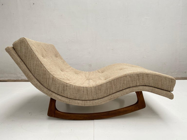 Rocking Chaise Lounge by Adrian Pearsall for Craft Associates, USA, 1960s In Good Condition For Sale In bergen op zoom, NL