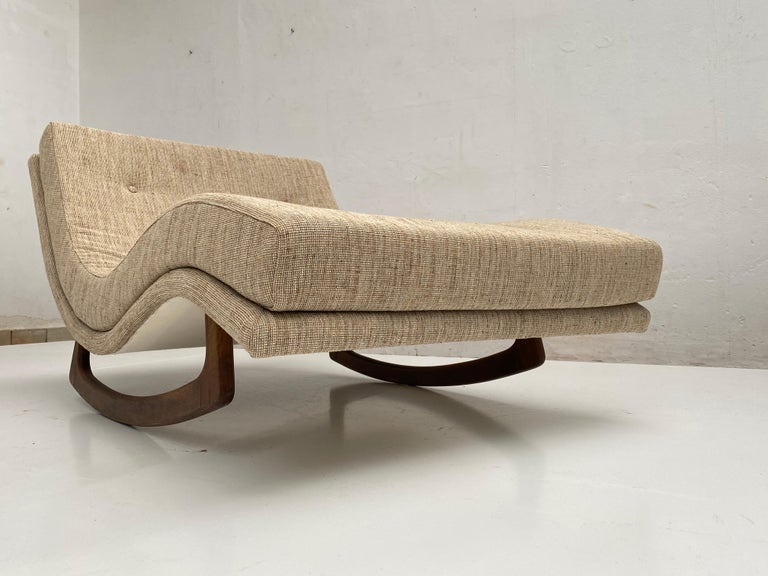 Mid-20th Century Rocking Chaise Lounge by Adrian Pearsall for Craft Associates, USA, 1960s For Sale