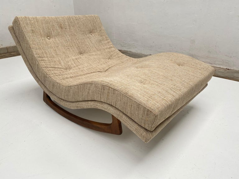 Rocking Chaise Lounge by Adrian Pearsall for Craft Associates, USA, 1960s For Sale 1