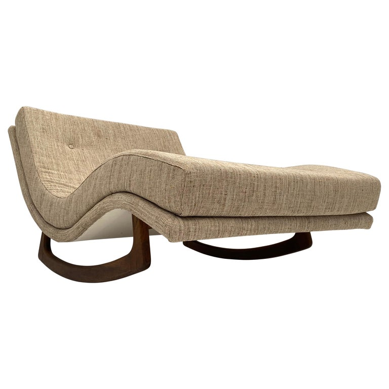 Rocking Chaise Lounge by Adrian Pearsall for Craft Associates, USA, 1960s For Sale