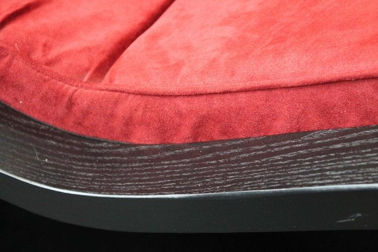 Wood Rocking Lounge Chair model 'Rio' by Oscar Niemeyer For Sale
