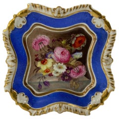 Rockingham Porcelain Pin Tray, c. 1835