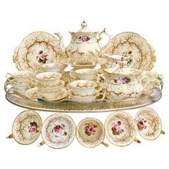 Rockingham Tea Service, Rococo Revival, circa 1832
