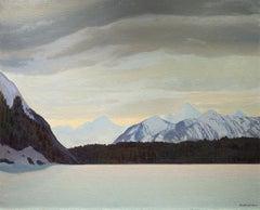 Frozen Lake, Alaska