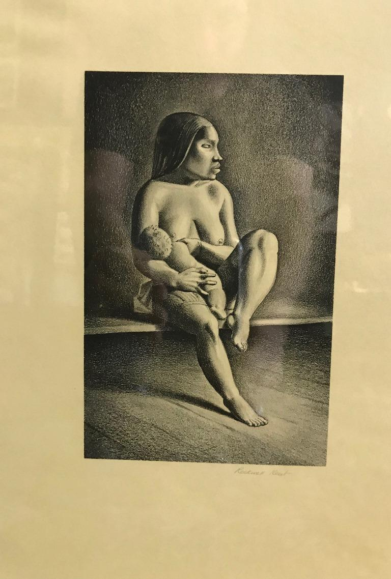 A wonderful image by American artist Rockwell Kent.