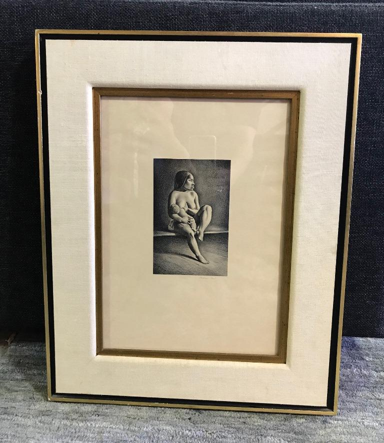 Mid-20th Century Rockwell Kent Pencil Signed Lithograph