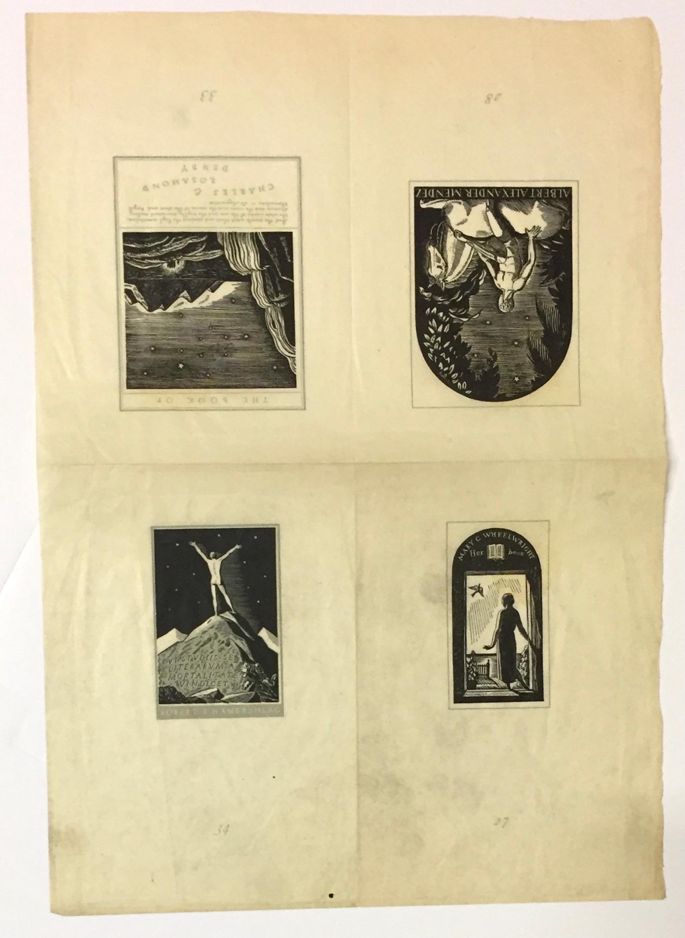 Four Bookplates