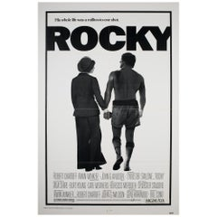 """Rocky"" 1976 US 1 Sheet Film Poster"