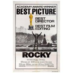 Rocky 1977 U.S. One Sheet Film Poster