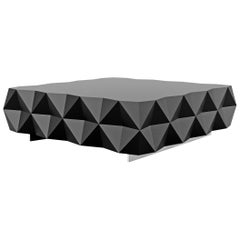 Rocky Coffee Table — Black