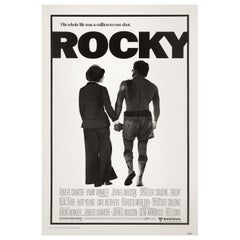 'Rocky' Original Vintage US One Sheet Movie Poster, 1976