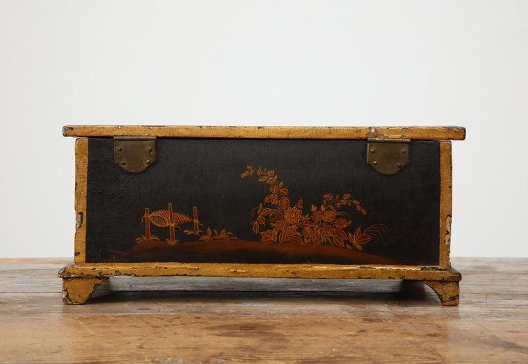 Rococo Chinoiserie Box, circa 1750 For Sale 6